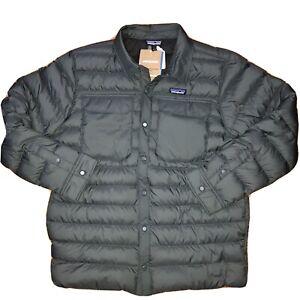 Patagonia - Men's Silent Down Shirt Jacket - Large L - Grey - $230
