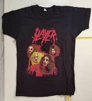 Vtg  SLAYER European tour shirt  NOT a Reprint    Metallica Anthrax Iron Maiden