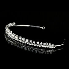 Bridal Headpiece Rhinestone Crystal Prom Wedding Headband Tiara V918