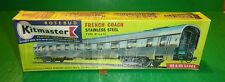 "Rosebud Kitmaster Railway Kit Midland Pullman FRENCH COACH Car HO/OO ""STAINLESS"""