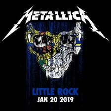METALLICA / World Wired Tour / LIVE / Verizon Arena - Little Rock, Jan. 20, 2019