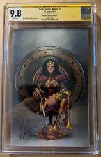 Dark Nights Metal #1 (DC 10/17) Wonder Woman CGC 9.8 Virgin Signed Joe Benitez