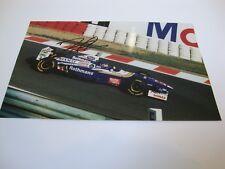 JACQUES VILLENEUVE 1997 WORLD CHAMPION SIGNED COLOUR PHOTO