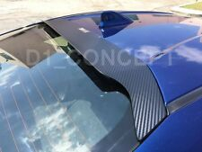 HIC - 2013+ Scion FRS Subaru BRZ GT86 Rear Window Spoiler Visor -CF CARBON STYLE