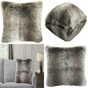 "Better Homes & Gardens Ombre Fur Decorative Pillow, 20"" x 20"", Brown"