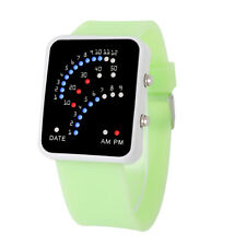 Unisex Men Womens Watches Silicone Band Digital LED Sport Wrist Watch  Free P&P