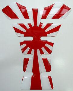 Classic Japanese Flag Rising Sun 3D Resin Resin Tank Pad Japan