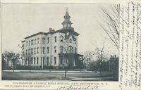 NEW BRUNSWICK NJ – Livingston Avenue High School – udb – 1905