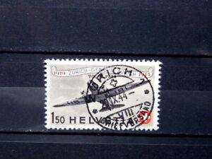 Briefmarken Schweiz - 438 - Ersttag-Stempel - Flugpost - MW € 22,00 - TOP