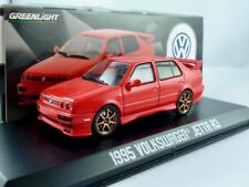 VW Jetta A3  1995  rot  / Greenlight 1:43