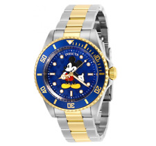 Invicta Disney Mickey Mouse Watch Limited Edition Men 40mm Blue Dial Model 29671
