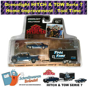 Greenlight Hollywood Hitch & Tow Tool Time Home Improvement Camaro Chevy Trailer