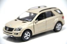 "5"" Kinsmart Mercedes Benz ML Class SUV Diecast Model Toy Car 1:36 Champagne"