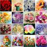 Rose DIY 5D Full Drill Diamond Painting Embroidery Cross Stitch Arts Mural Decor