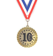 10K Medal- Race- Participant- Winner- Free Neck Ribbon