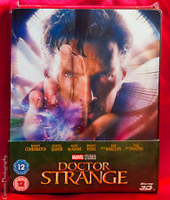 Doctor Strange Exclusive Lenticular Magnet Steelbook (Blu-Ray 3D, Blu-Ray), NEW