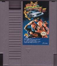 BACK TO THE FUTURE II & III 2 3 TWO THREE ORIGINAL CLASSIC NINTENDO GAME NES HQ