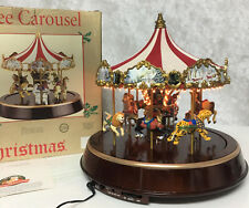 VTG Mr Christmas MARQUEE CAROUSEL Music Lights & Sound 30 Songs No Rotation Box