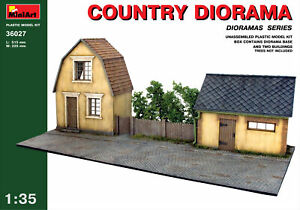 Miniart 36027 Country Diorama Town House Scale Plastic Model Kit 515 mm 1/35
