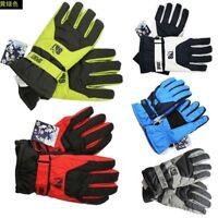 Men Winter Sport Warm Waterproof Snow Motorcycle Snowmobile Snowboard Ski Gloves