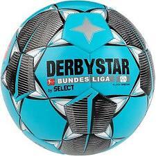 Derbystar Bundesliga Player Special *Größe 5*  Freizeitball Fußball Blau/Silber