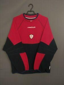 Liverpool Sweater Pullover Size LARGE Vintage Retro Reebok ig93