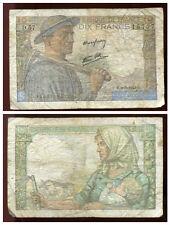 10 francs MINEUR  09/09/1943   ( D 57  )