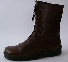 FOOTPRINTS MARSALA Birkenstock FB 41 Stivali Di Pelle Marrone sottile nuovo