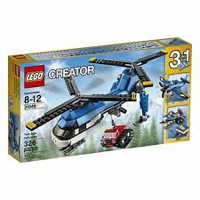 LEGO® Creator Twin Spin Helicopter Building Play Set 31049 NEW NIB
