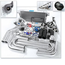 GT35 T4 Turbo Kit .68AR Turbine 3″ Pipe Supra MA70 MZ30 MZ21 MKIII 7M-GTE 7MGTE