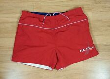 Vtg NAUTICA challenge Regatta Sailing Mens SWIM TRUNK  NS83 90s L / XL