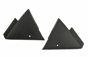 1987-93 Ford Mustang Interior Power Mirror Mount Cover Pair