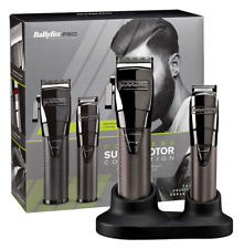 BaByliss PRO - Cordless Super Motor Clipper And Trimmer Set
