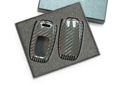 Deluxe Carbon Remote Flip Key Cover shell case for Audi TC0003