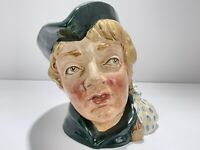 ROYAL DOULTON 'DICK WHITTINGTON' D6375 1952 LARGE TOBY CHARACTER JUG MINT