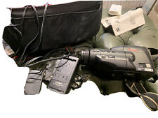 Minolta Master C-538 Camcorder With Carry Bag And Accessories