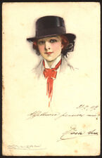 cartolina d'epoca-post card-illustratore  MAUZAN-DONNINE,WOMAN,LADY DECO' 6