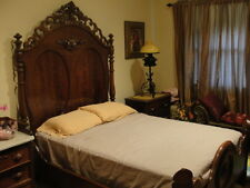 Marvelous Victorian Walnut 3 Piece Bed Dresser Washstand Bedroom Set C1880 90u0027s !