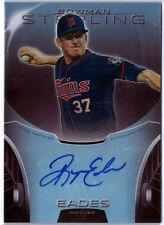 2013 Bowman Sterling Baseball Ryan Eades Prospect Autograph Parallel /99 Twins