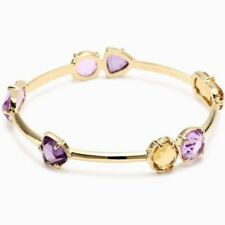 Kate Spade Desert Rose Bracelet NWT Faceted Gems on Gold Bangle Desert Hues