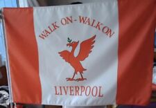 LIVERPOOL YNWA FOOTBALL FLAG (NO POLE) BRAND NEW SOUVENIR GIFT 90cm x 60cm