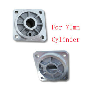2pcs Tire Changer Machine Part 70mm Small Cylinder Front +Back Aluminun Cover