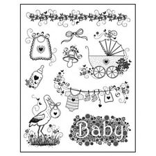 Viva Decor Silicone Stamp Set - Baby