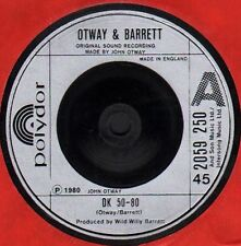 John OTWAY & BARRETT   DK 50-80   Original 1980 UK Issue Vinyl SINGLE