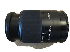 Sony Zoom Lens DT 18-70 mm F 3.5-5.6