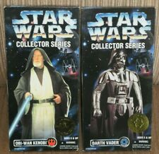 Star Wars Kenner Collector Series Darth Vader Ben Kenobi New MIB A New Hope 1996