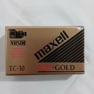 Maxell VHS-C Tape TC-30 HGX-Gold