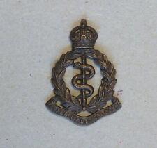 R.A.M.C. officer's bronze cap badge by Firmin