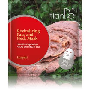Reishi Lingzhi Mushroom Revitalizing Smoothing Face and Neck Mask 1pc