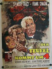 TEUFEL KOMMT UM VIER (Filmplakat '61) - SPENCER TRACY / FRANK SINATRA